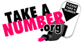 Take a number logo
