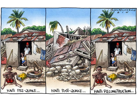 Haiti-Cartoon