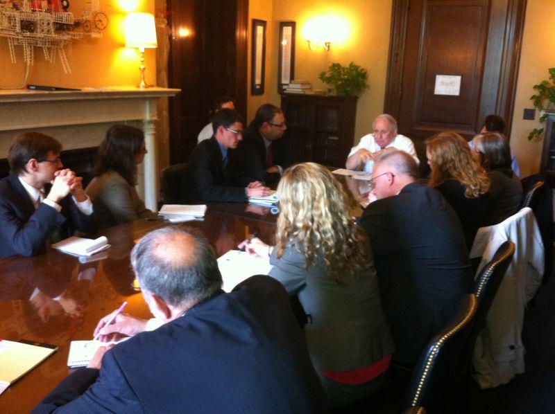 Jubilee Meets with Senator Levin