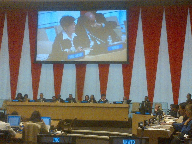 Jubilee Speaks on Floor of United Nations