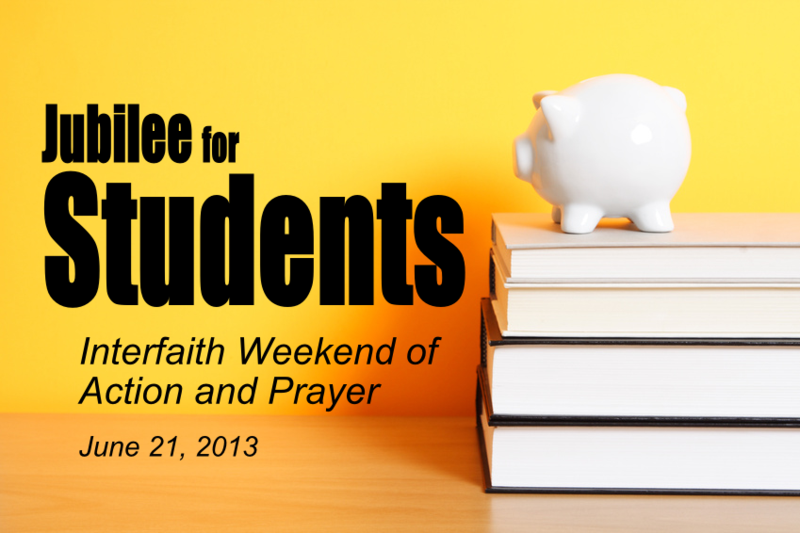 Jubilee for Students: A Weekend of Action and Prayer for our Youth's Future
