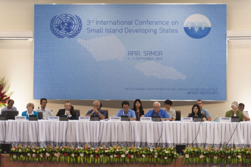 2014_Small_Island_Developing_States_meeting_in_Samoa