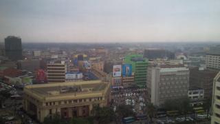 Nairobi at Dusk