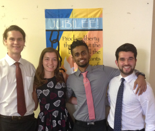 Jubilee Summer 2016 interns