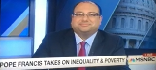 Eric on MSNBC